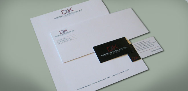 Law Firm Letterhead, Graphic Design