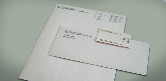 Law Firm Letterhead, Graphic Design